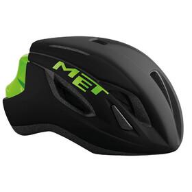 MET Strale Fietshelm groen/zwart